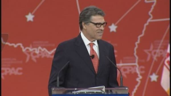 Rick Perry: 'Unemployment rate is a sham'