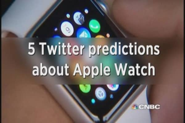5 Twitter predictions about Apple Watch