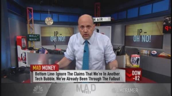 Bubble or bust? Cramer says market not bubblicious