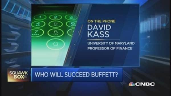 Who will succeed Warren Buffett?