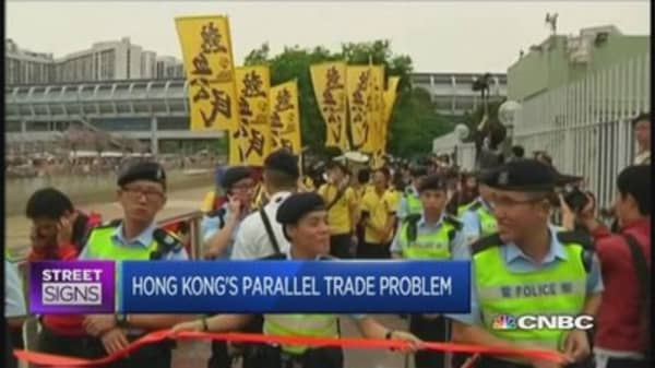 Hong Kong sees anti-China protests again