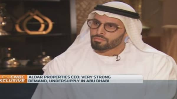 Property projects not delayed by oil prices: CEO