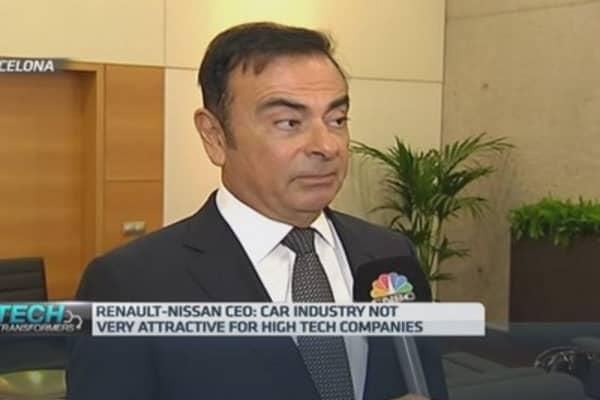 Ghosn: Electric cars are the future