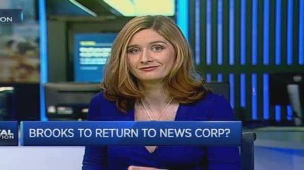 Rebekah Brooks set for News Corp return