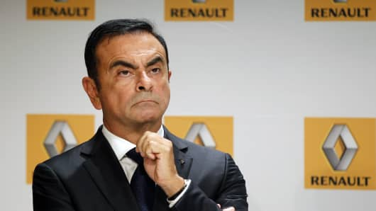 Carlos Ghosn, ousted Nissan chairman.