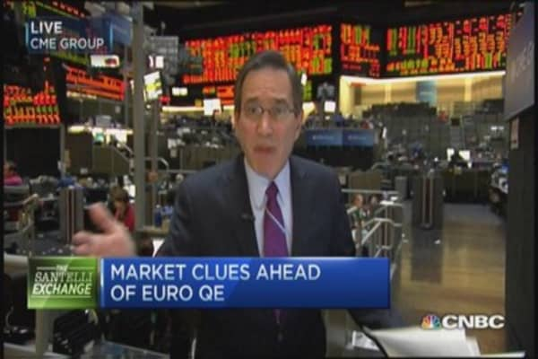 Santelli Exchange: Edging closer to euro QE