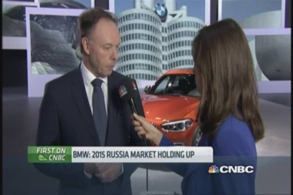 BMW: Russian market holding up