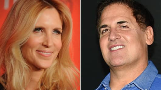 Ann Coulter and Mark Cuban