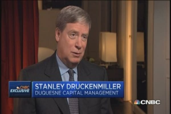 Druckenmiller: Would be great if Fed acted now