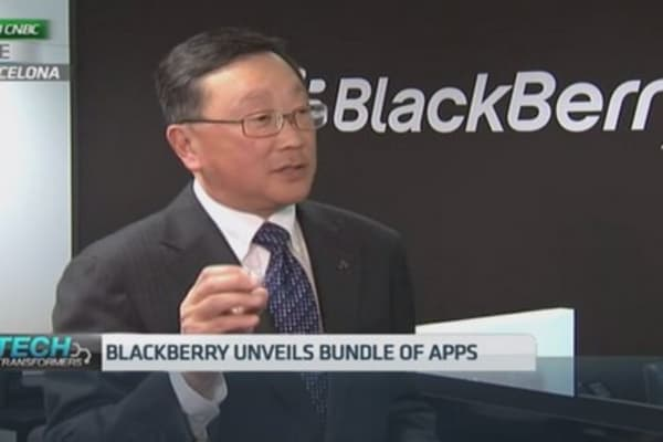 Blackberry unveils new smartphone: CEO