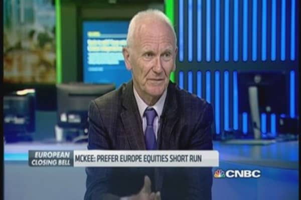 Places bet on Europe equities, not bonds