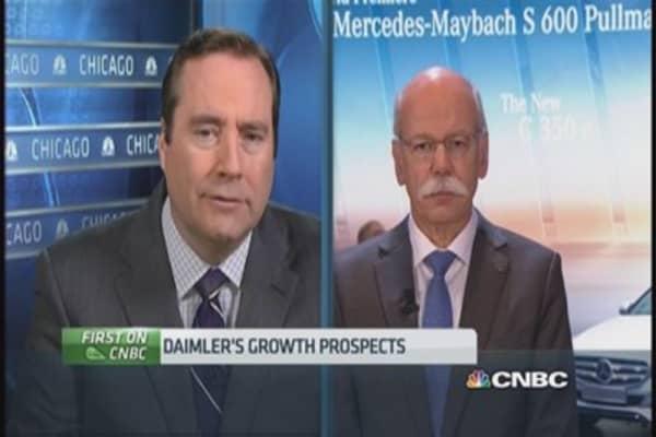 Daimler: We welcome an Apple Car