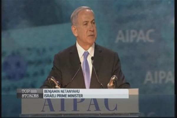 Netanyahu speech divides Washington