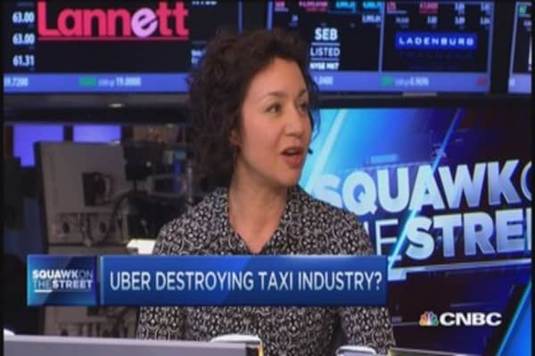 Taxi prices plunge: Is Uber to blame?