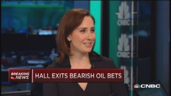Andy Hall exits bearish oil bets