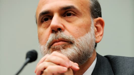 Former US Federal Reserve Chairman Ben Bernanke in 2009.