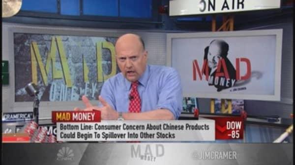 Cramer: Dangerous theme behind some stocks