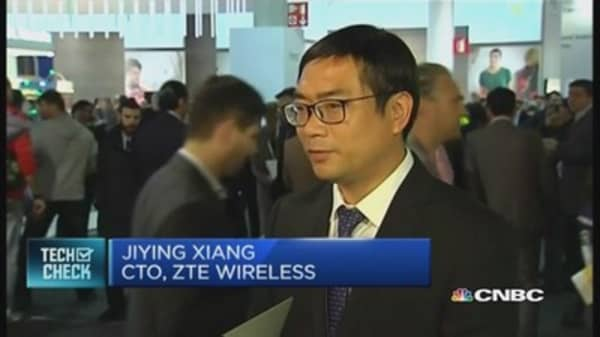 Expect 5G this year, says China's ZTE Wireless
