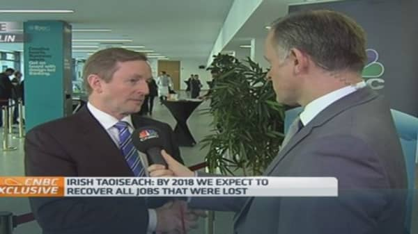 Irish PM: We're 'upfront' about tax