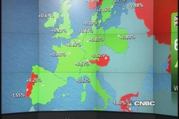 Europe shares end higher as ECB meeting approaches