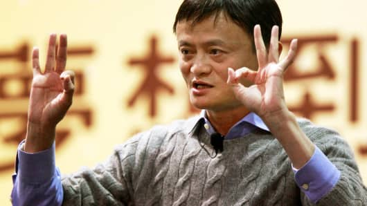 Alibaba adds $42 billion in market cap on strong sales forecast