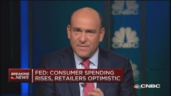 Beige Book: Consumer spending rises, drilling declines