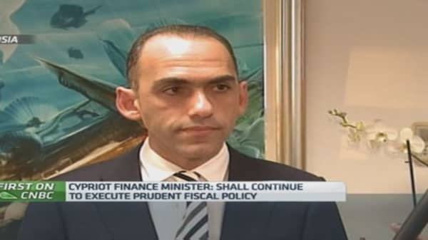 ECB QE a step in the right direction: Cyprus Fin Min