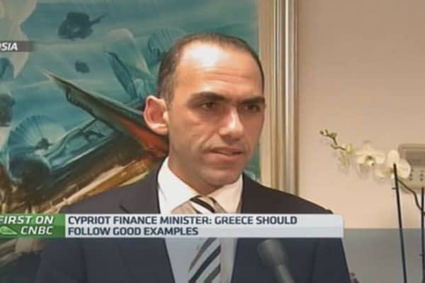 Greece should follow good examples: Cyprus Fin Min
