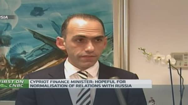 Hopeful for normalized relations with Russia: Cyprus Fin Min