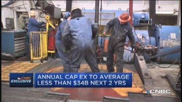 Exxon trims capex by $34 billion