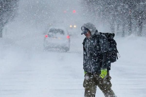 Another winter storm slams Northeast