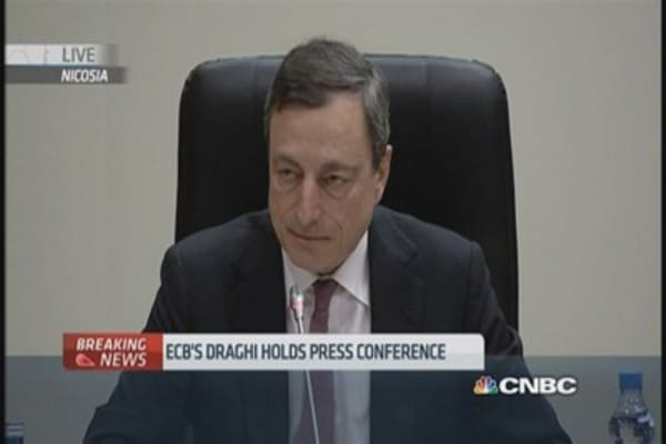 ECB QE to launch on Monday