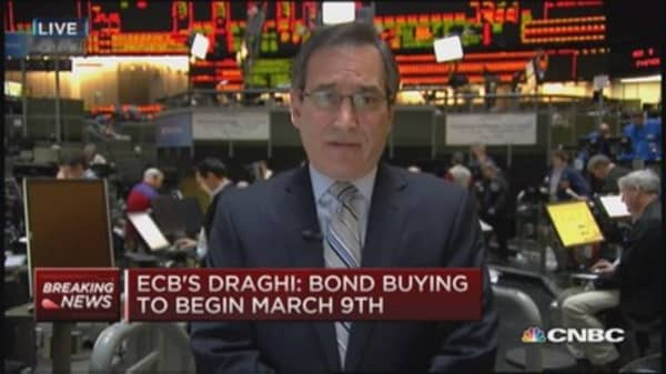 ECB's bond-buying to begin March 9th