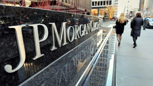 JPMorgan Chase headquarters, New York.