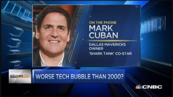 Mark Cuban's take on tech bubble