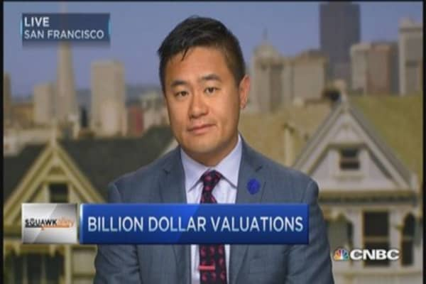 Billion dollar valuations and the tech industry