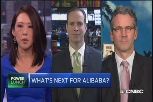 Alibaba at bottom? Two pros debate