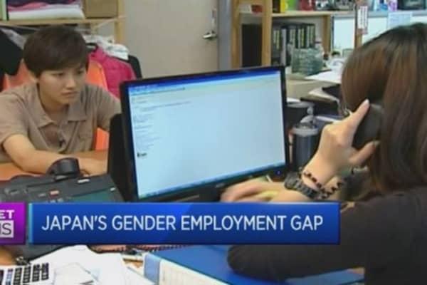 Tracking Japan's progress on Womenomics