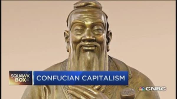 Confucian capitalism at work