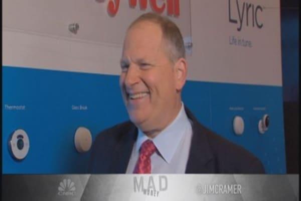 Cramer: Remarkable run for Honeywell