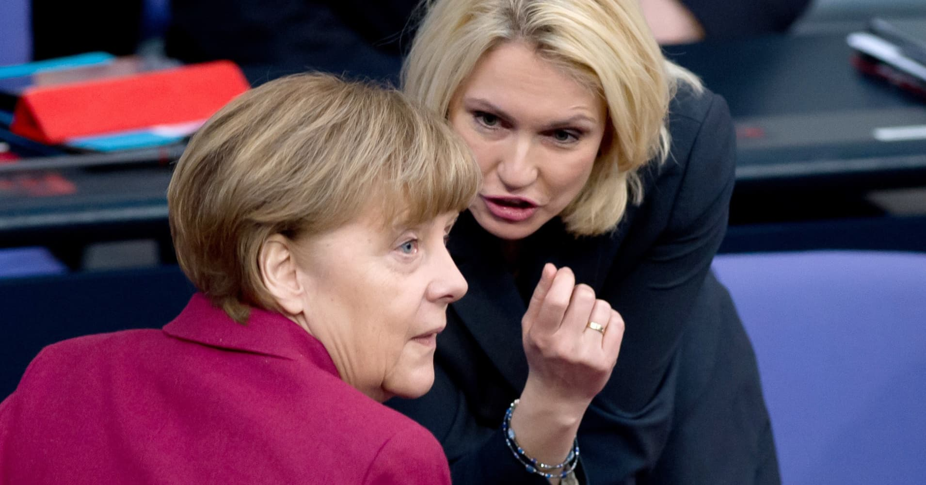 German parliament approves legal quotas for women on