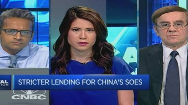 Not worried about China's bad loans: Pro