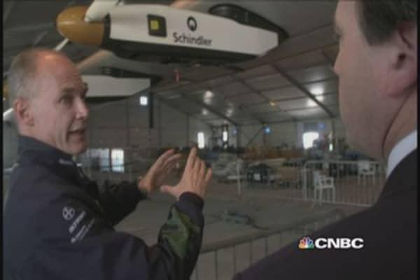 Touring Solar Impulse