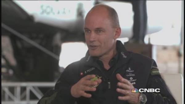 Piccard's vision for Solar Impulse