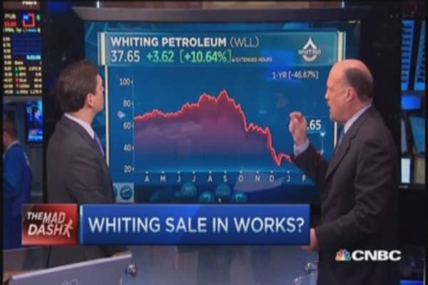 Cramer's Mad Dash: Whiting sales in works?