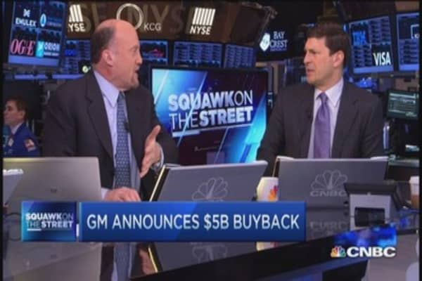 Cramer on GM buyback: 'I'm shocked at this'