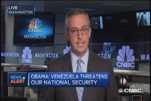 New sanctions on Venezuela