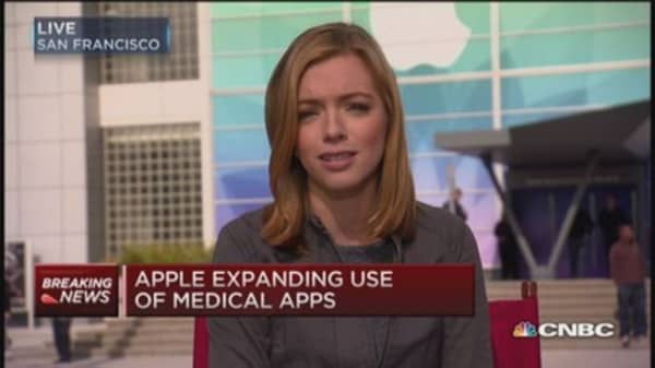 Apple announces research kit
