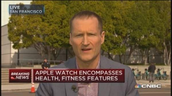 A bear on the Apple Watch