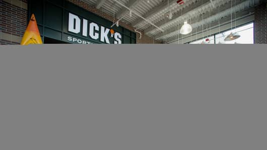 A Dick's Sporting Goods store in West Nyack, New York